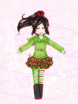 Vanellope's  Transfomation? by Harajuku-Lollipop