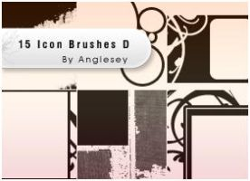 Icon Brushes D by anglesey