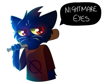 Night In The Woods Mae