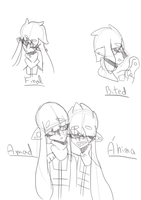Inklings Doodles by The-7th-Demon