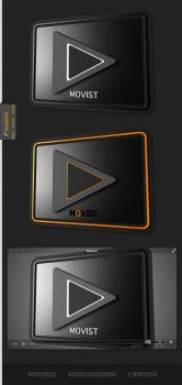 Movist - 3D Icon Replacement by artist00