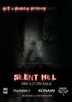 Practical Work 2 Desing Silent Hill poster. by WishWDream
