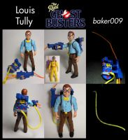 Real Ghostbusters Louis Tully Custom Figure by Baker009