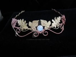 Golden Leaves Headpiece by camias
