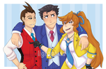 Ace Attorney by lightgaiaa