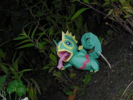 Kecleon papercraft by TimBauer92