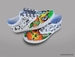Custom shoes - colores by surfender