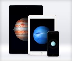 Apple Planets Wallpapers by JasonZigrino