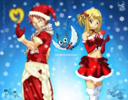 Christmas Fairy Tail by iPhenixia