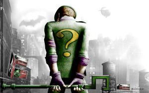 The Riddler in Arkham City by MoonySascha