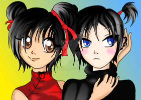 Pucca and Garu by Martyna-Chan