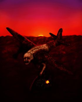 With The Dusk Came Doom by Pyramiddhead