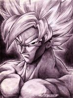Goku by rosan-mate