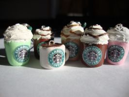 starbucks charms collection by cutieexplosion