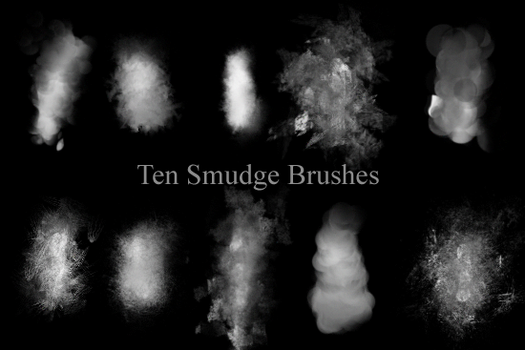 Smudge Brushes by Krynnstock