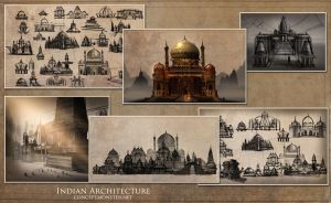 Indian Architecture Comp by AlexRuizArt
