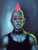 uberpunk by cryoclaire