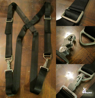 Commission - Naked Snake (MGS3) - STABO Harness by SnowBunnyStudios