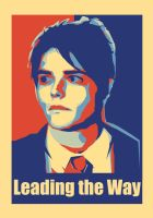 Gerard Way Poster by happy-smiley-robot