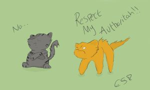 RESPECT MY AUTHORITAH by Cutestuffrocks