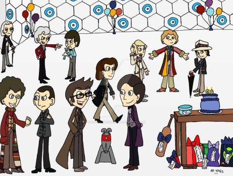 Doctor Who 50th Anniversary Celebration! by Kindra-Mckleen