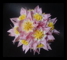 Kusudama 10 by lonely--soldier