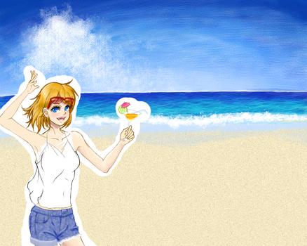 WIP: summer~ by HUKUforALL