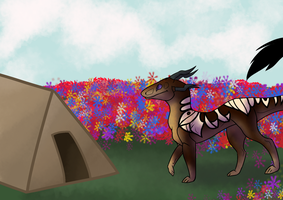 Out Camping by Dragon149