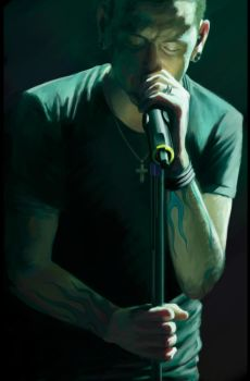 Chester Bennington by wizjer