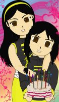 Happy bday Nicki-chan by Krishtal