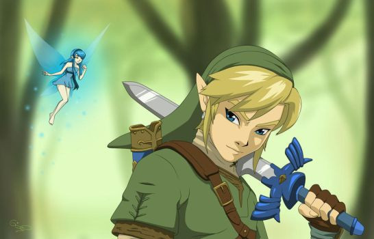 Link and Navi by airgirl39