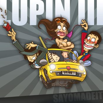 Lupin The Third - Lupin III by SAYOMADEIT