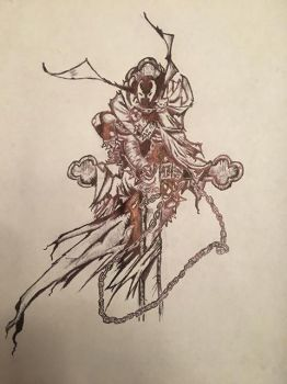 Spawn Ball point pen by rabbit969