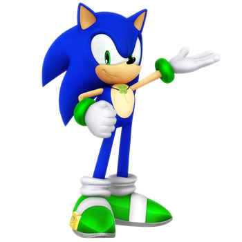 Sonic St. Patricks Day Render by Nibroc-Rock