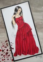 She Wore Red Dresses by strainstrain