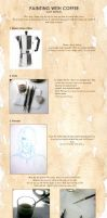 Coffee painting tutorial by Noiry