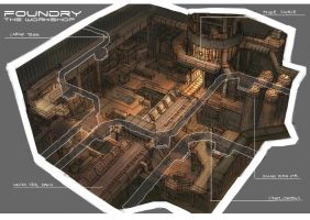 Level Design: Foundry by yongs