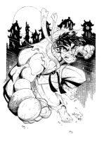 RYU :: Finished Inks by Red-J