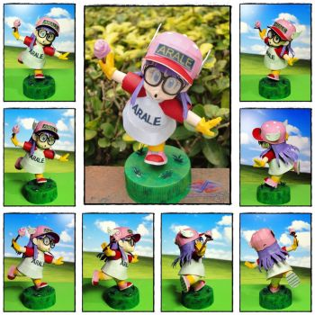 Whoosh Arale Papercraft by BRSpidey