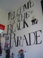 Welcome to the black parade by THEsquiddybum