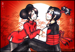 Pucca and Garu by My-Michelle
