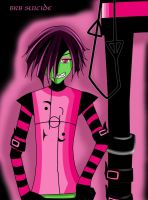 BRB SUICIDE- Zim :3 by Legg0MyEd0