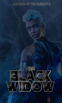 Black Widow Movie Poster (Storm) by Art-Master-1983