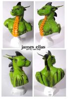 James Elias bust by rah-bop
