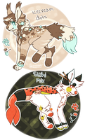 double adopt auction [closed] by starrbun