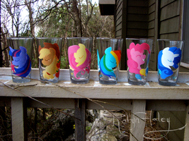 My Little Pony Glasses by AstroRobyn