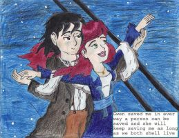 gwevin in the movies _titanic by AncientWonder