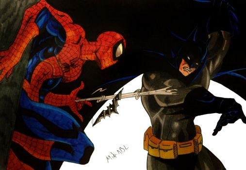Marvel DC Crossover II Favourites By Spider-Bat700 On
