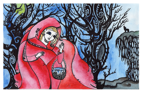 Red Riding Hood by ADAtheQueenOfHEARTS
