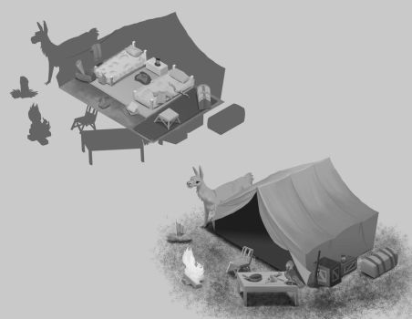 Tent Designs by TangerineVampire
